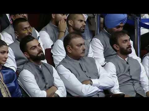 Amit Shah, Indian Cricketers at function to rename Feroz Shah Kotla  Stadium as Arun Jaitley Stadium