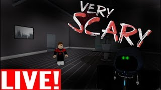 🔴Playing Scary Roblox Games LIVE!!! 🔴😱Lots Of SCREAMS