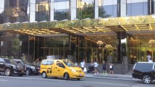 Trump International Hotel and Tower across from Central Park NYC