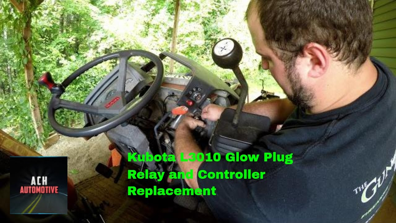 Kubota L3010 Glow Plug Relay and Controller Replacement on kubota l2800 wiring diagram, kubota l2600 wiring diagram, kubota l3010 wiring diagram, kubota l3400 wiring diagram, kubota l48 wiring diagram, kubota l3430 wiring diagram, kubota m6800 wiring diagram, kubota l2550 wiring diagram, kubota l235 wiring diagram, kubota l2250 wiring diagram, kubota l2900 wiring diagram, kubota l2350 wiring diagram, kubota l4200 wiring diagram, kubota l4300 wiring diagram, kubota l35 wiring diagram, kubota l2850 wiring diagram, kubota l3600 wiring diagram, kubota l3830 wiring diagram, kubota l275 wiring diagram, kubota l4610 wiring diagram,