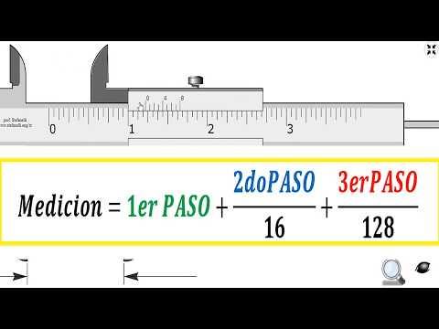 Lectura Del Vernier De Precision 1 128 Pulgadas Youtube