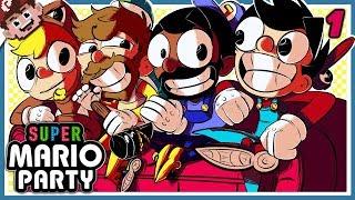 SUPER MARIO PARTY COUCH CALAMITY! (Super Mario Party - Part 1)