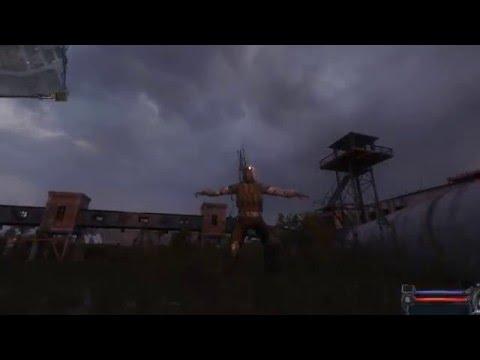 Играем в S.T.A.L.K.E.R. Чистое небо от 2 лица  ( Сборка) #3