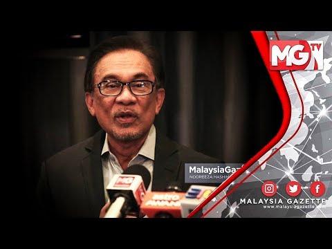 TERKINI: Reaksi Anwar Ibrahim terhadap PAS UMNO guna satu logo