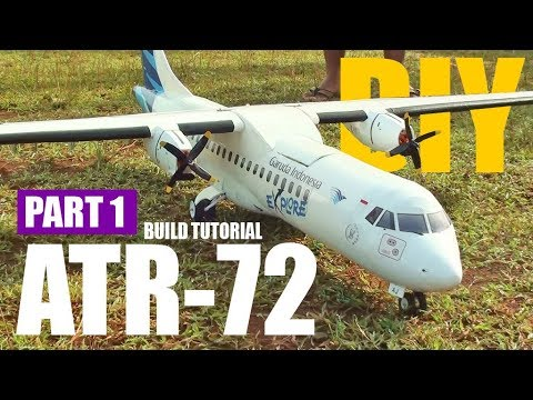 how-to-make-twin-motor-atr-72-600-rc-plane-part-1
