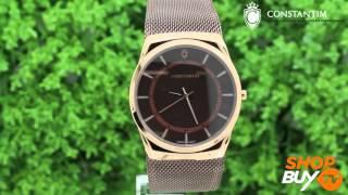 fd2f3294830 Relógio Constantim Slim 6366G CC - ShopBuy