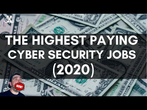 The Highest Paying Cyber Security Jobs (2020)