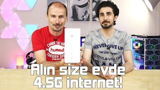 "Turkcell Superbox incelemesi ""Evde 4.5G internet"""