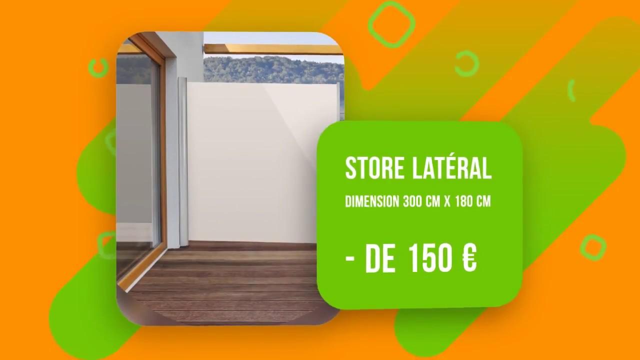 Meilleur Brise Vue Rétractable Comparatif Store Latéral