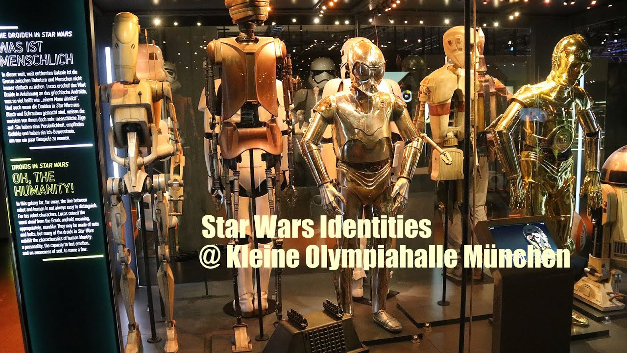 star wars identities m nchen preview ab kleine olympiahalle m nchen youtube. Black Bedroom Furniture Sets. Home Design Ideas