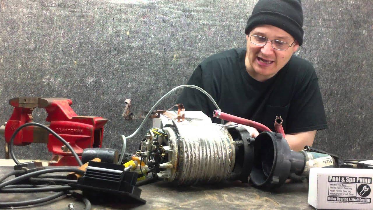 Softub Pump Puuf Rebuild Part 003