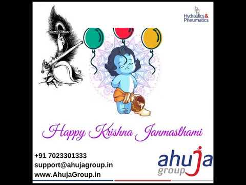 Wishing you a Very Happy Krishna Janmashtami! Jai Shree Krishna!  Email: support@ahujagroup.in | Call: +91 9549641000 | www.AhujaGroup.in | WhatsApp: +91 82093 81783