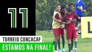 Torneio CONCACAF sub-15: Estados Unidos da América 0 - 3 Portugal