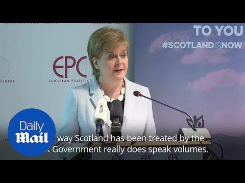 Nicola Sturgeon: Scotland Has Been Ignored By Conservative Government