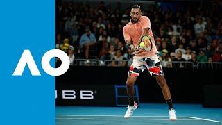 Nick Kyrgios v Lorenzo Sonego match highlights (1R) | Australian Open 2020