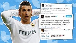 50 Funniest Footballers' Tweets