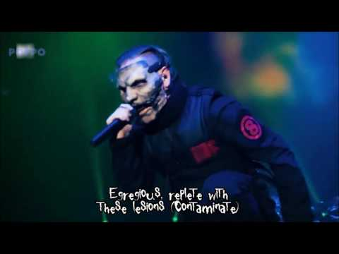 Slipknot   The Negative One live with lyrics