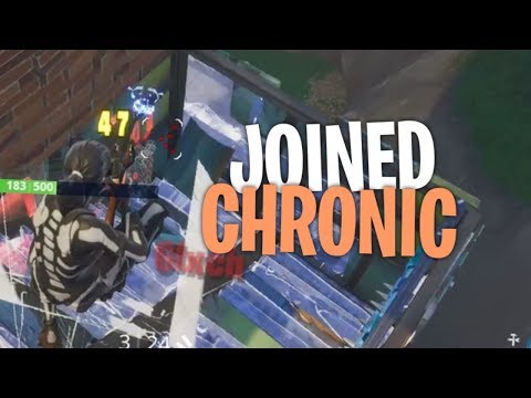 I joined Chronic... (rip Swavy Luis) - Fortnite