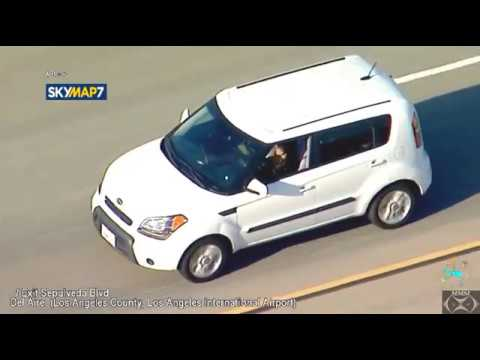 Federal police, CHP chase suspect from Westwood to Manhattan Beach
