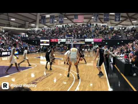 OSAA 6A Boys Basketball State Championship Highlights - Jefferson vs. Grant