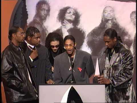 Bone Thugs N Harmony Wins Favorite Rap/HipHop Artist - AMA 1998