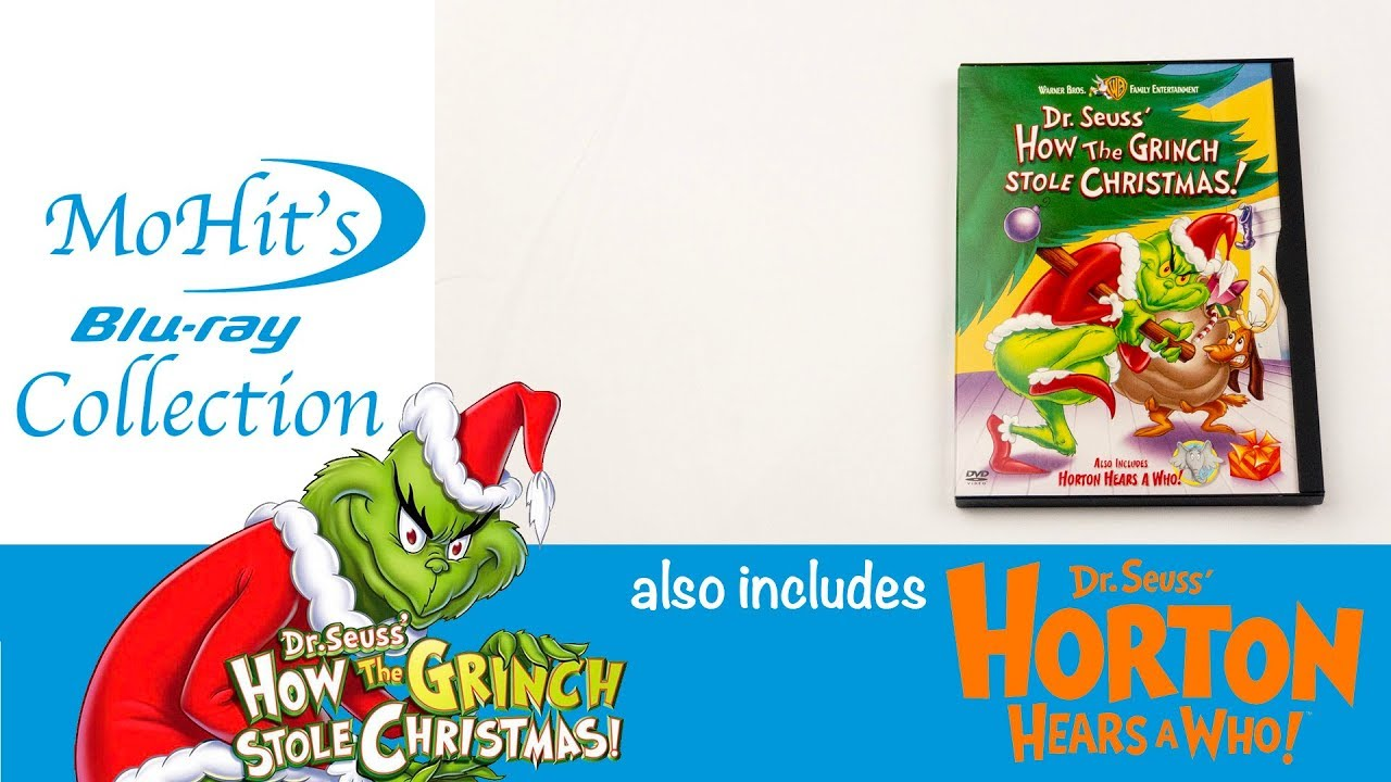 How The Grinch Stole Christmas 1966 Dvd.How The Grinch Stole Christmas Dvd Unboxing