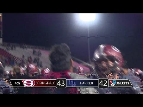 Springdale Bulldog Football   vs Har-Ber High School