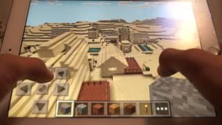Сид на двухэтажную деревню в Minecraft 0.9.5-0.10.0 #16