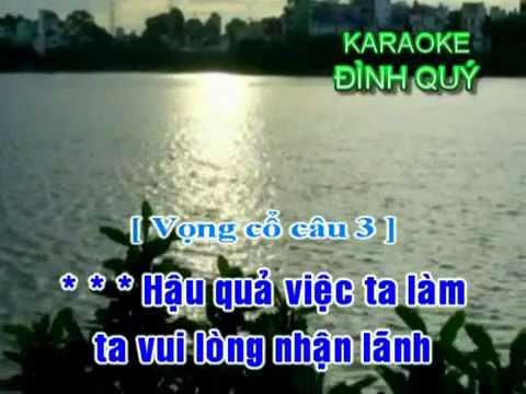 karaoke trich doan Tam Su Loai Chim Bien 4 - ca voi 545 va nganchau.wmv