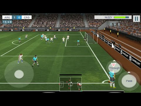 21th June Argentina Vs Croatia Fifa World Cup 2018 Real Football 2019 Gameloft aNdroid IOS Gameplay