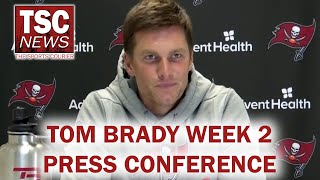 Tom Brady on Bruce Arians' Criticism, Scotty Miller, Bucs vs. Panthers