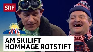 Am Skilift – Hommage an das Cabaret Rotstift