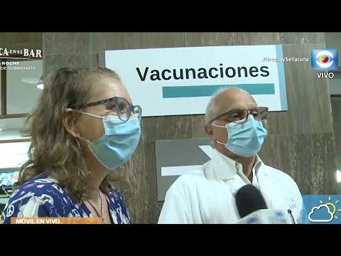 Apertura de vacunación para personas entre 55 y 59 años