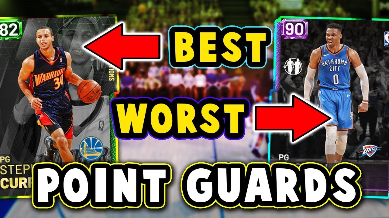 Top 5 Best Worst Value Point Guards In Nba 2k19 Myteam September