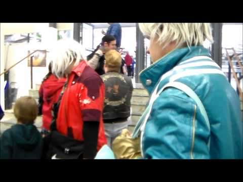Dante & Vergil visits Sci Fi World: Stockholm 2015