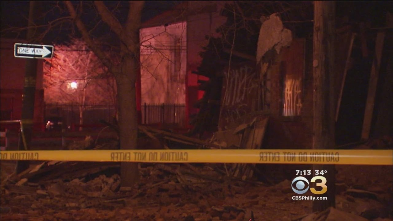 Vacant Rowhome Collapses In North Philadelphia