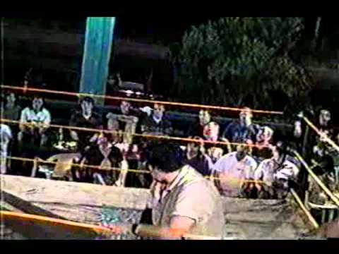 Insane Wrestling Alliance 1999 Hal Lee and Jerry Blanchard vs The Southern Boys with Sinn.