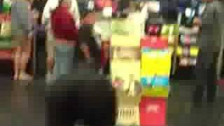 The Monster runs in Hollywood Video is search for CANDY!! Then the ...