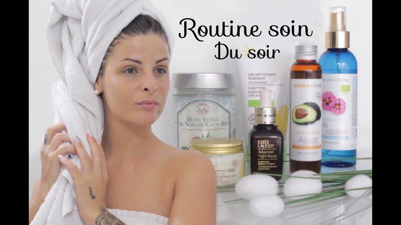 routine soin visage du soir bio ll my night routine 2016 youtube. Black Bedroom Furniture Sets. Home Design Ideas