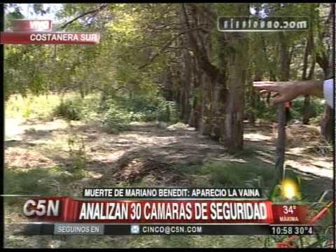 C5N - MUERTE DE MARIANO BENEDIT: ANALIZAN 30 CAMARAS DE SEGURIDAD