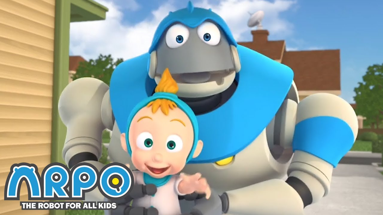Arpo the Robot | Sneezing Mania | FULL EPISODE | Funny Cartoons for Kids | Arpo and Daniel