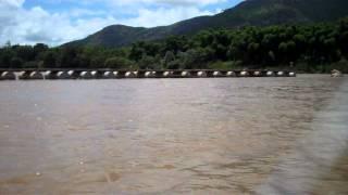 Ponte interditada em Almenara/MG -  A Saga no Rio Jequitinhonha