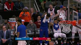 3rd Quarter, One Box Video: Atlanta Hawks vs. New York Knicks