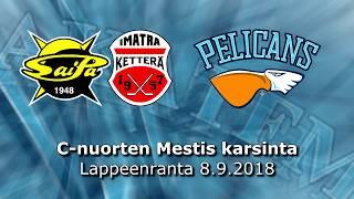 La 8.9.2018 SaiPa/Ketterä - Pelicans C1 Akatemia