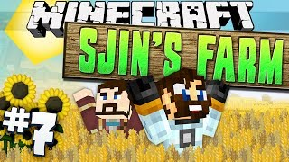 Minecraft - Sjin's Farm #7 - A House in the Hills