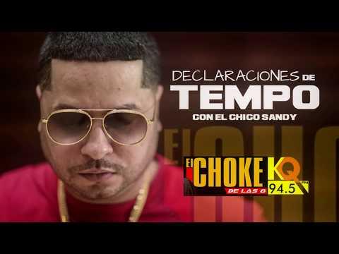 Tempo habla de Daddy Yankee / Hector el Father y Vico C  ( en el Choke de las 8