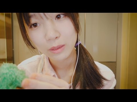 ASMR 日本語 耳かき店 Roleplay / Ear Cleaning & Ear Massage / Japanese