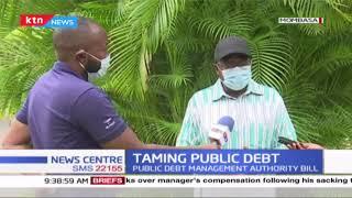 Kenya's public debt has been increasing at an alarming rate