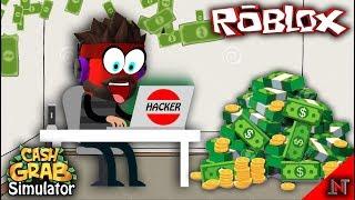 ROBLOX Indonesia #87 Cash Grab Simulator Accarezza i tuoi soldi con un mouse magico