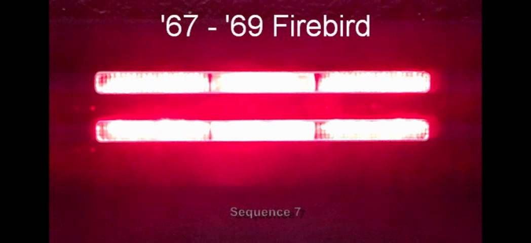 1967 1969 Firebird Led Sequential Tail Lights By Easy